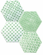 Marrakech Mosaic Verde Hexagon Декор 150х150 мм/56,1